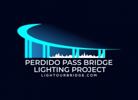 Perdido Pass Bridge Lighting Project logo
