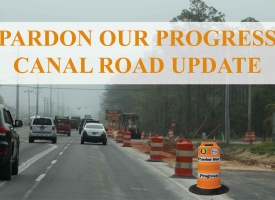 Canal Road Update - April 9, 2021
