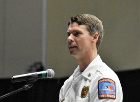 Orange Beach Fire Chief Justin Pearce