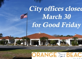 City offices closed graphic Good Friday
