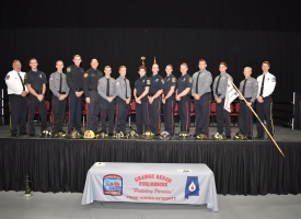 Class of 2018 Fire Recruit School