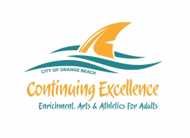 Orange Beach Continuing Excellence program logo