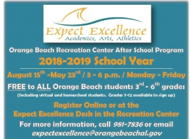 Expect Excellence after school program 2018-19