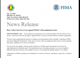 Here's How Survivors Can Appeal FEMA's Determination Letter