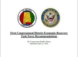 First Congressional District Economic Recovery Task Force Recommendations