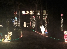 "Orange Beach Garden Club's annual ""Light Up Orange Beach"" holiday decoration contest"