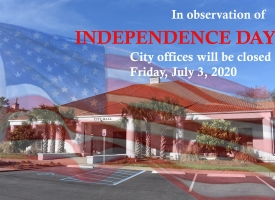 Fourth of July 2020 closings graphic