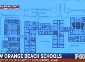 Fox 10 report on new Orange Beach school