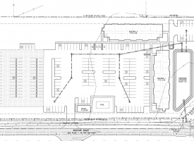 Greenway Apartments Site Plan in Orange Beach
