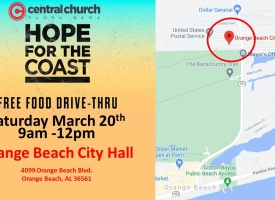 Hope for the Coast food distribution event set for Saturday, March 20 in Orange Beach