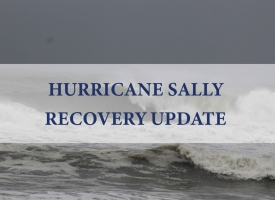 Hurricane Sally Recovery Update graphic