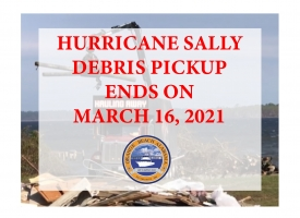 Orange Beach's Hurricane Sally debris pickup deadline set for March 16, 2021