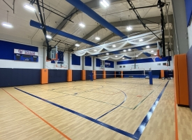 New gymnasium at the Orange Beach Recreation Center
