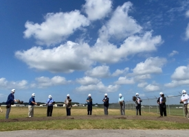 Groundbreaking ceremony held for the Jack Edwards National Airport control tower on September 4, 2020
