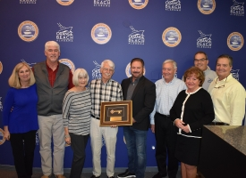John Davis honored, given key to City of Orange Beach by mayor and council
