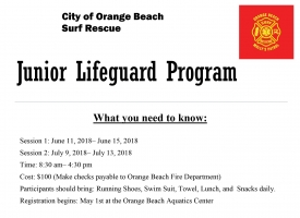 Junior Lifeguard program 2018