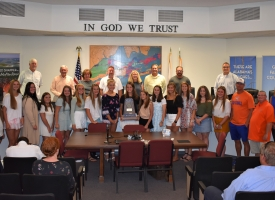 Lady Makos recognized by OB Council, 6.8.2021
