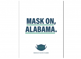 Mask On Alabama message