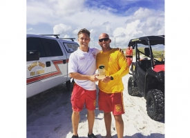 Menke named 2018 Orange Beach Surf Rescue Lifeguard of Year
