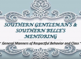 Southern Gentlemen's & Southern Belle's Mentoring