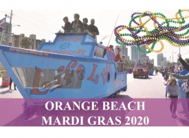 2020 Mardi Gras parades in Orange Beach begin to roll on Saturday, Feb. 22