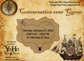 Public invited to OBPD 'Conversation over Queso' on Feb. 27