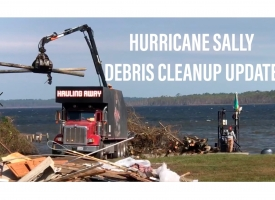 Hurricane Sally Debris Cleanup Update