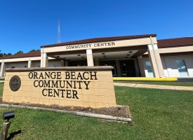 Orange Beach Community Center photo of exterior of building