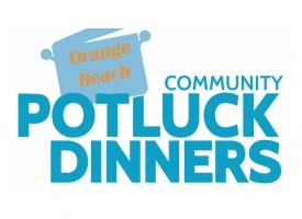 Orange Beach Community Potluck graphic