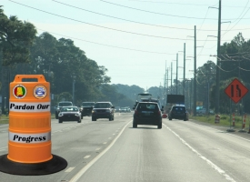 Pardon Our Progress City of Orange Beach photo showing Canal Road
