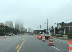 ALDOT resurfacing project begins on Perdido Beach Boulevard