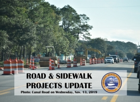 Road and Sidewalk Projects Update - November 2019