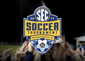 SEC Soccer Tournament logo