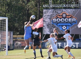 Arkansas, Texas A&M, South Carolina and Vanderbilt face off Thursday in SEC Women's Soccer Tournament semifinals in Orange Beach