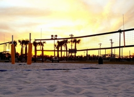 Sand volleyball courts at Orange Beach Sportsplex