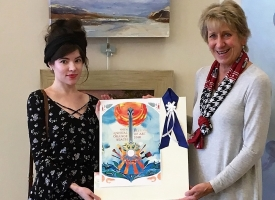Sara Dollison wins Orange Beach Festival of Art poster contest
