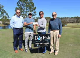 Tom Myers wins hole-in-one prize at Golf Center; next Skins Game is March 7