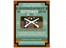 Youth Sporting Clay Shoot set for September 26th