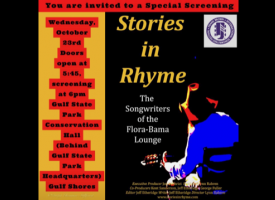 "Free Special Screening of ""Stories in Rhyme - The Songwriters of the Flora-Bama Lounge"" on Oct. 23, 2019"