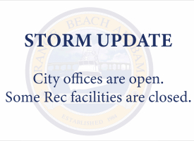 Storm Update for Monday, August 30: City offices are open; some recreation facilities are closed